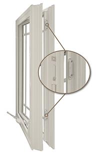 OKNA Casement Windows installed by Buschurs Home Improvement