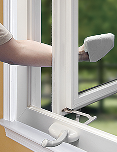 Casement Window Installations by Buschurs Home Improvement Center - easy to clean