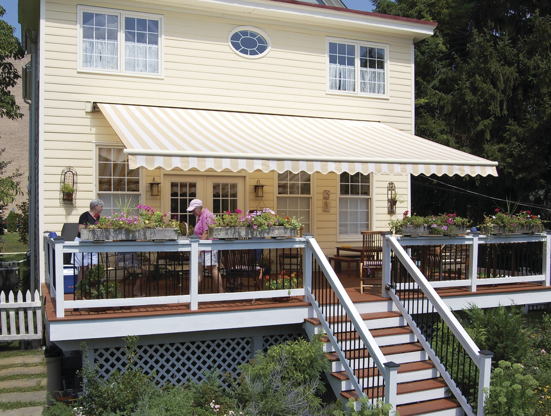 Outdoor Canopy Retractable Awning from Buschurs in Southwest Ohio
