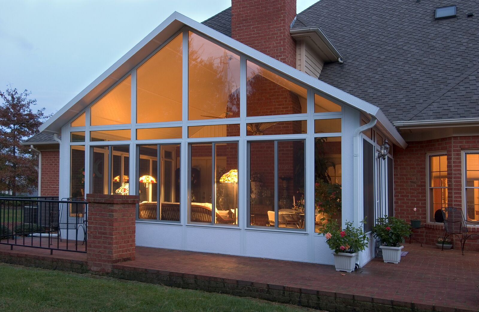 California Style of Sunroom