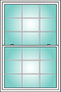 Colonial Grid Pattern Options for OKNA Casement Windows installed by Buschurs Home Improvement