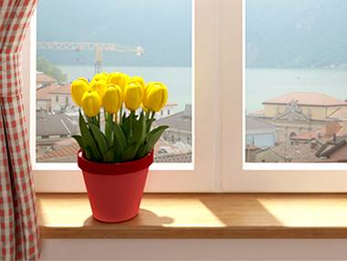 Environmental Friendly Windows from OKNA Windows installed by Buschurs Home Improvement