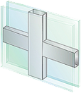 5/8 inch Flat Grid Profile Options for OKNA Casement Windows installed by Buschurs Home Improvement