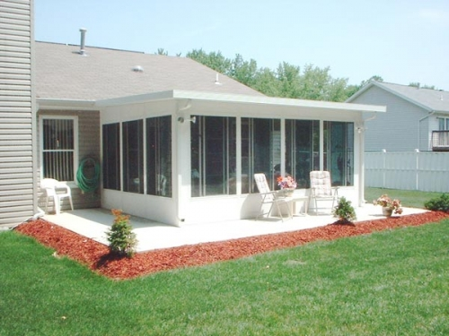 Sunrooms Dayton Ohio Buschurs Home Improvement Center
