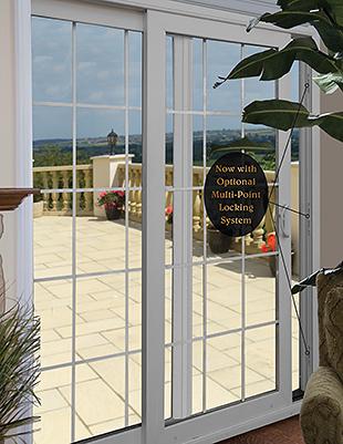 Four Point Locking System on OKNA Patio Doors - Buschurs Home Improvement Center