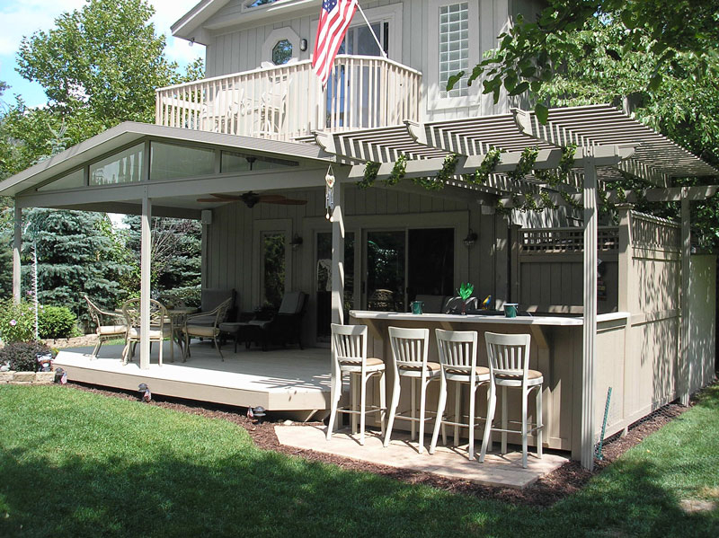 Quality Patio Cover from Buschurs in Dayton, Ohio