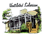 Ventilated Solarium Style Sunroom - 3 Season Room Windows & Design